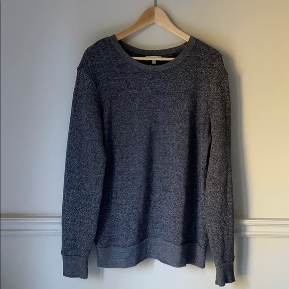 Aritzia // Community Grey Heather Crewneck Sweater